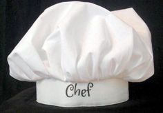 Personalized-FREE-CHEF-HAT-COOKING-NOVELTY-TOQUE-COSTUME-CHEAP-GIFTS-Photo-Prop