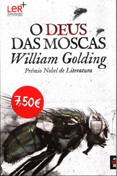 Portugese edition of William Golding's The Lord of the Flies as received from Dom Quixote