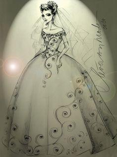 desenho vestido de noiva - Google Search
