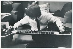 George and sitar