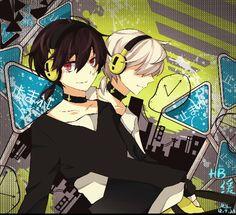 Kuroha and Konoha ♥