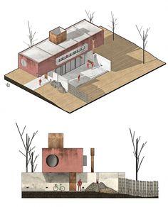 Landscape Architectural Graphic Standards Student Edition Landscape Gardening Kildare. Architecture Collage, Architecture Graphics, School Architecture, Architecture Plan, Landscape Architecture Perspective, Architecture Presentation Board, Architecture Portfolio, Architecture Visualization, Presentation Design