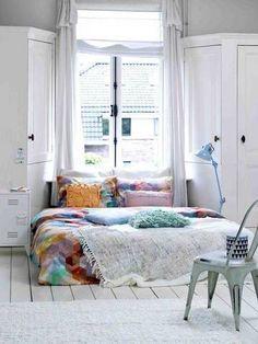 1000 ideas about no headboard on pinterest bedroom No Headboard Decorating Ideas Bed with No Headboard Decorating Ideas