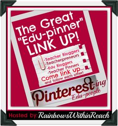 The Great EDU-Pinner Link-UP