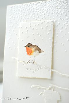 Old Cards, Paper Cards, Xmas Cards, Art Christmas Cards, Handmade Card Making, Handmade Birthday Cards, Card Making Templates, Happy Paintings, Embossed Cards