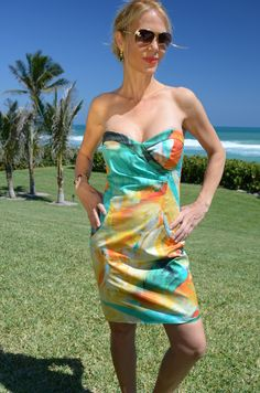 It is time to SHINE!  Puccini Dress - Painterly  www.LTBrazil.com