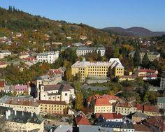 Slovakia, Banská Štiavnica - Mining, Chemistry and Forestry Academy