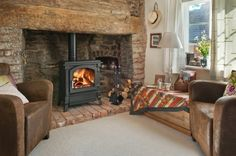 The Harmony range of wood burning stoves - shown here the Harmony 43