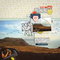 roadtrip by asali in lily pad gallery using paislee press kit