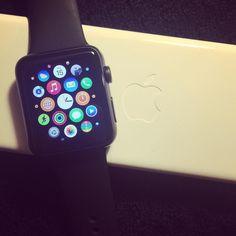 Got myself a new toy  #apple #watch #applewatch #iwatch #tech by yiyingliu1012