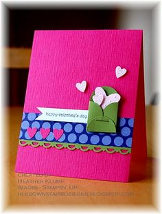 The hearts coming out of the bitty envelope - too cute!