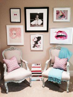 sitting area, salita decoracion