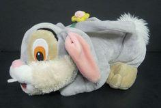 Disney Bambi Thumper Plush Doll Toy Zipper Bag with Handle 15 Inch   eBay $19.99