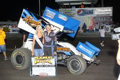 Daryn Pittman after winning the King of the Hill .