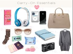 Carry-On essentials love twenty travel самолет, одежда, пути. Airplane Essentials, Travel Bag Essentials, Road Trip Essentials, Travel Checklist, Packing Tips For Travel, Road Trip Checklist, Packing Lists, Puerto Iguazu, Airplane Travel