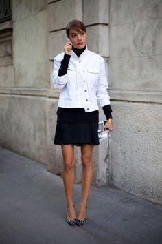 Cómo Verte Chic En Blanco Y Negro: 55 Ideas De Street Style – Cut & Paste – Blog de Moda