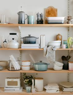 Whether she's a cook, baker, tea enthusiast or simply loves to entertain, there is a gift for every kind of mother at Le Creuset. Mother's Day Promotion, Le Creuset, Floating Shelves, Entertaining, Cook, Tea, Gifts, Inspiration, Home Decor