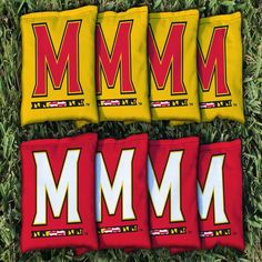 Maryland Terrapins All-Weather Cornhole Bag Set - $49.99