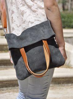 OFFER Leather bag grey leather bag woman bag crossbody bag tote bag everyday bag casual bag custom tote bag by SANTIbagsandcases on Etsy https://www.etsy.com/listing/190657598/offer-leather-bag-grey-leather-bag-woman