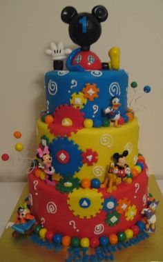 Mickey Clubhouse 1st Birthday