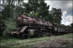 20 Eerie Train Graveyards and Abandoned Locomotive Cemeteries