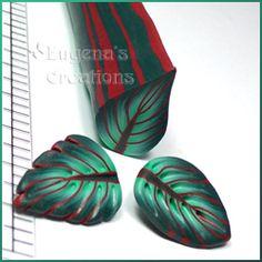 Polymer Clay Tutorial Millefiori Leaf Canes