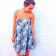 So we're currently obsessing over the Paisley Blues dress. This item is absolutely darling! It's perfect for an evening downtown. You can shop online or in stores today! #WillyJays #KingStreet #Charleston #ootd #summer