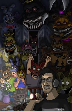 The Hero that Horror Deserves (FNAF4) by Marshall-Arts-Comics on DeviantArt