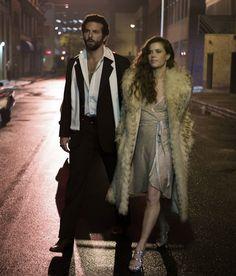 """Bradley Cooper y Amy Adams en""""La Gran Estafa Americana"""" (American Hustle), 2013"""