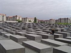 The memorial is in two parts. The stelae field above the ground and an information center detailing the personal lives of the murdered jews under ground. It is absolutely worth visiting the under ground museum. Entry is free but it is recommended to pay 4 Euros for the audio guide.