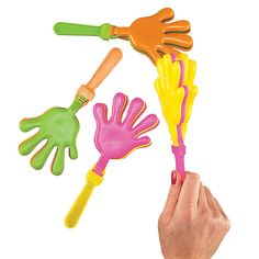Colorful+Hand+Clappers+-+OrientalTrading.com