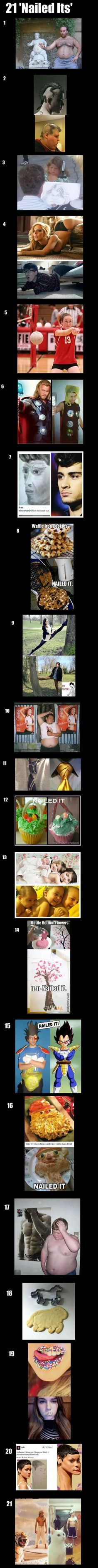 Nailed It! pinterest and other attempts gone wrong hahaha More funny pictures at funiest-stuff.com #uploadfunny #funnyvideos #uploadvideos