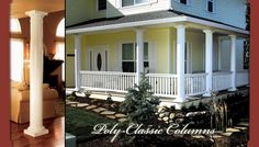 Columns/Posts for home. TURNCRAFT : Poly-Classic FRP, Craftsman, DuraGlass, Architectural & Colonial Columns,