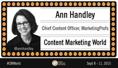 How to Create Oscar-Worthy Content Marketing: Ann Handley of MarketingProfs #CMWorld - http://feedproxy.google.com/~r/OnlineMarketingSEOBlog/~3/lYxdhaOLa4g?utm_source=rss&utm_medium=Friendly Connect&utm_campaign=RSS #seo #onlinemarketing