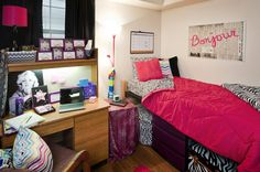 Show your style in your dorm room.