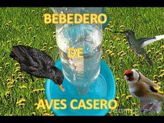 Bebedero Para Aves Automatico Y Casero 100% RECICLABLE / YMX SUPERVIVENCIA