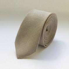 Light grey necktie mens grey linen necktie light by ArtOfLithuania