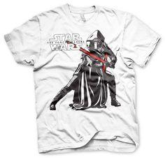Kylo Ren Pose T-Shirt (White)