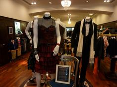 Brooks Brothers' Great Gatsby Costumes on display at the Regent's Street store in London