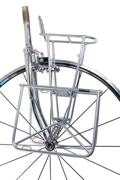 """Nitto Campee Front Bicycle Cargo Rack //// 26/"""" //// Silver"""