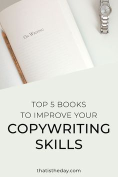 You can't hide bad copy behind good design. Want to find out how you can improve your copywriting? Here are 5 books that will help you Creative Business, Business Tips, Online Business, Make Money Writing, Writing Advice, Copywriter, Inbound Marketing, Content Marketing, Mail Marketing
