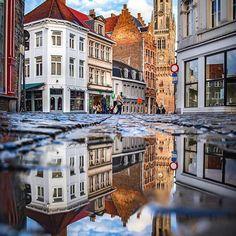 Brugge, Belgium ... by  @pentaxdudes #brugge #belgium