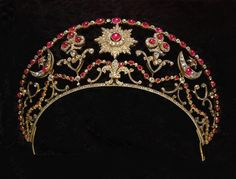 GABRIELLE'S AMAZING FANTASY CLOSET | Milford Haven ruby tiara*
