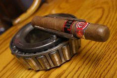 One of a kind cigar holder and ash tray by TungstenDesignGroup, $36.99
