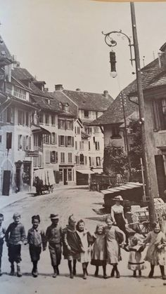 Aarau Ulice, Switzerland, Times Square, The Past, Street View, Travel, Viajes, Trips, Traveling