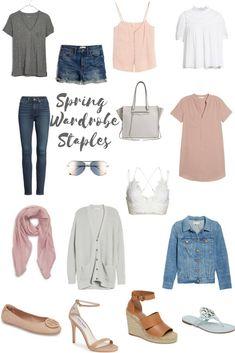 Spring Wardrobe Staples 2018