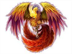 phoenix (drachen-fabelwesen tattoos)