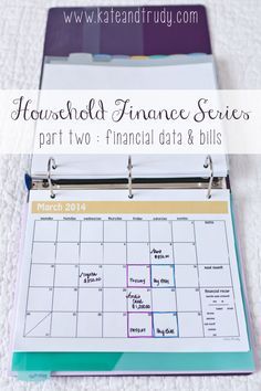 Welcome to Part Two of the Household Finance Binder Series. If you missed Part One ~ Create Your Binder, make sure to catch up first before continuing on. Today we're entering your financial data and establishing the bill payment process. Next week we'll focus on budgeting. Stick around by following on BlogLovin' – I promise …