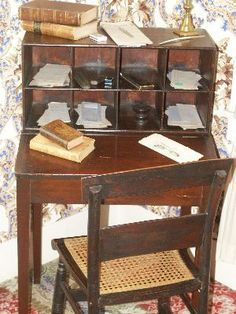 Springfield desk of Abraham Lincoln