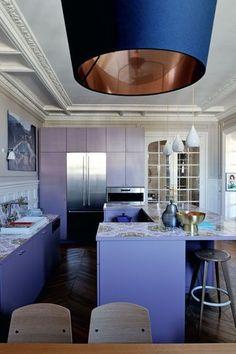 Une cuisine entre modernité et ancienneté